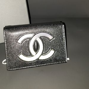 Chanel wallet fold authentic from Rodeo Dr.